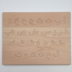 Arabische ABC Tafel