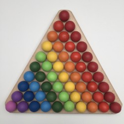 Montessori triangle