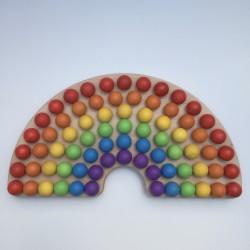 Montessori rainbow
