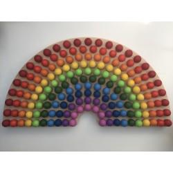 XXL rainbow