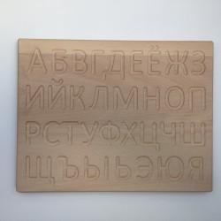 Kyrillische ABC Tafel