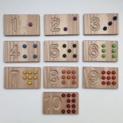 Domino Zahlen Karten