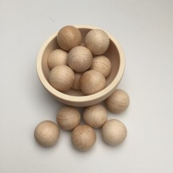 wooden balls 20mm diameter
