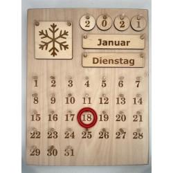 Montessori calendar