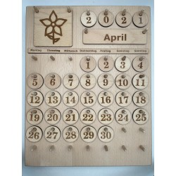 Montessori calendar vol. 2