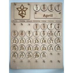 Montessori Kalender Vers. 2