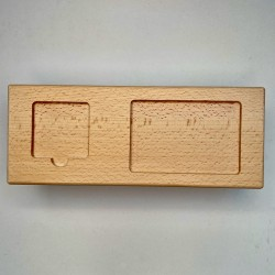 Domino board for tiles with...