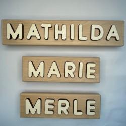 personalisiertes Namen Puzzle